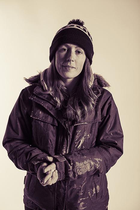 Portrait of street artist Roo