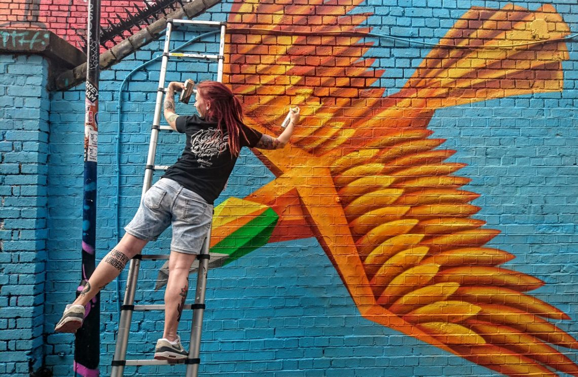 Annatomix is on our list of Best British street artists