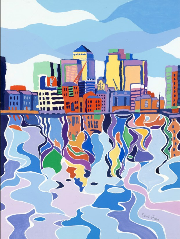 canarywharfreflections sarah fosse