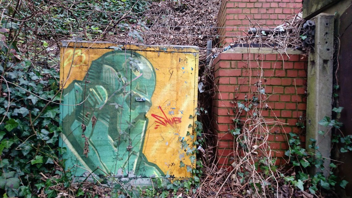 snub brighton street art
