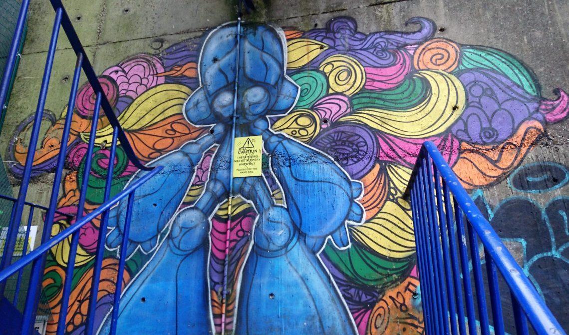 sinna one  brighton street art