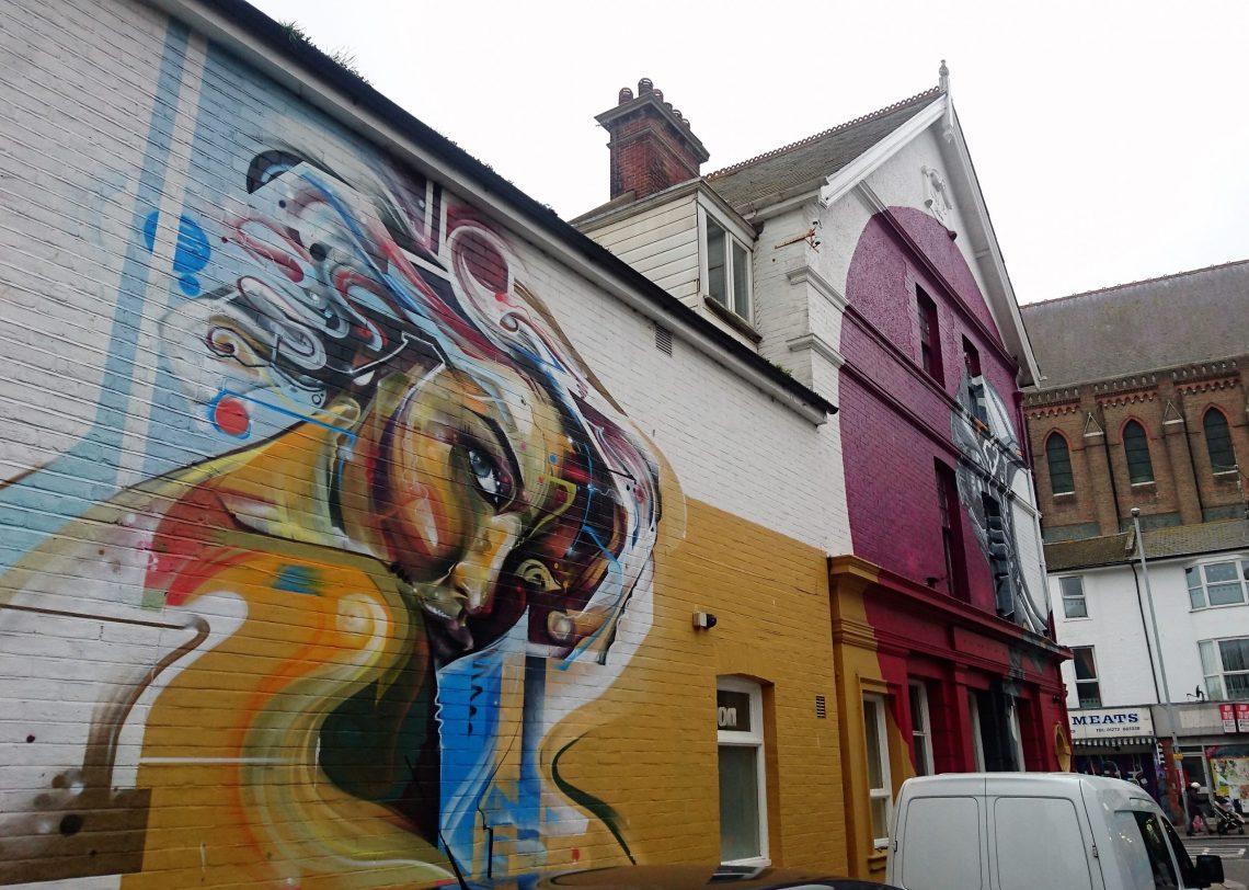 Mr cenz snub brighton street art