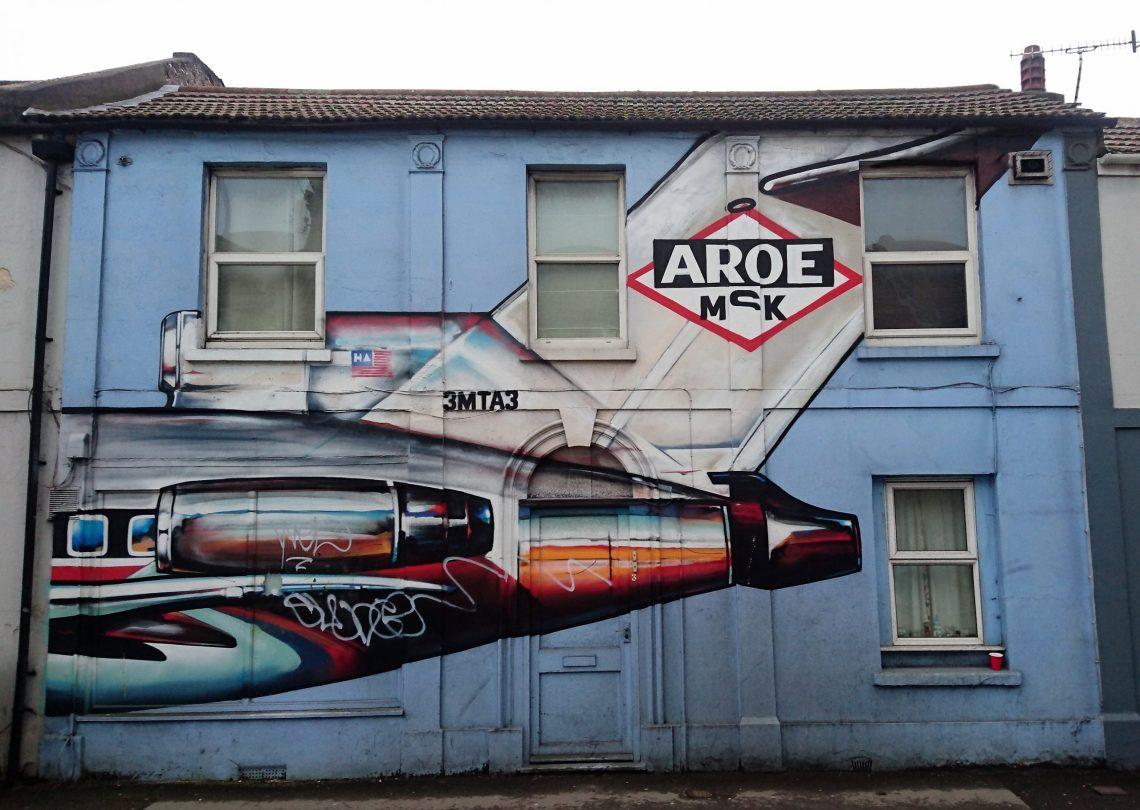aroe msk brighton street art