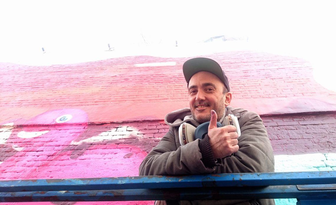 Argiris Ser is a Greek street artist