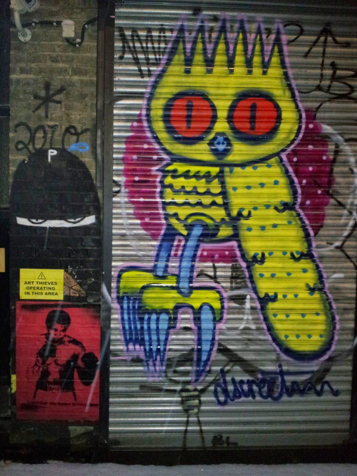 Shoreditch Graffiti: Graffiti And Street Art Legends Of Shoreditch And London's