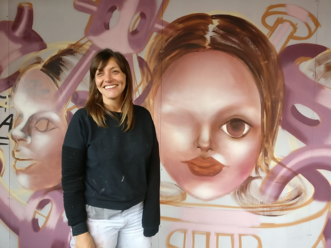 Caro Pepe interviewed during Upfest in 2017