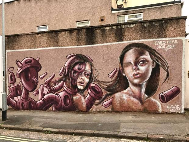 Wall by Caro Pepe and Age Age