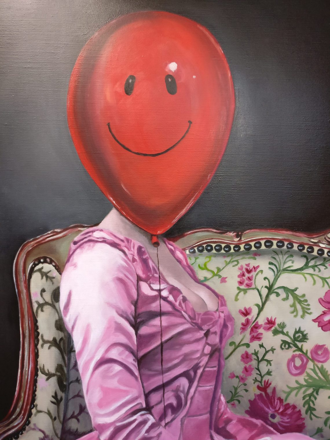 Balloon Rouge Raffaella Bertolini