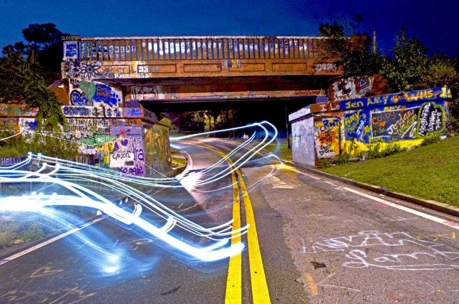 Graffiti bridge pensacola