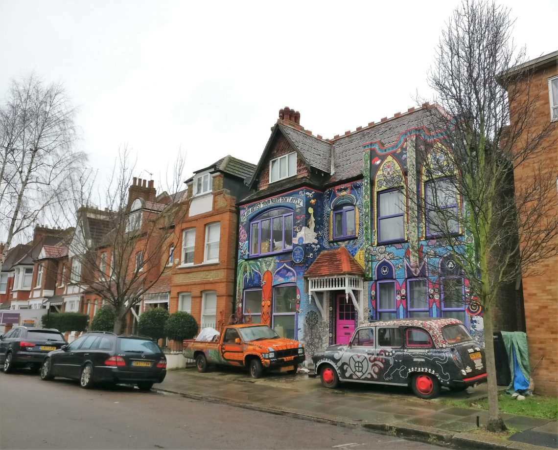 Carrie Reichardt's House on Fairlawn Grove in Chiswick