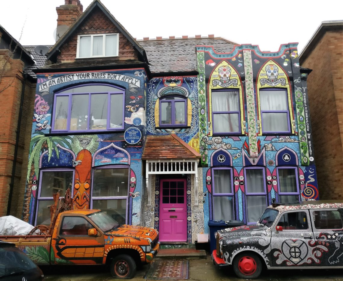 Carrie Reichardt's Mosaic House in Chiswick