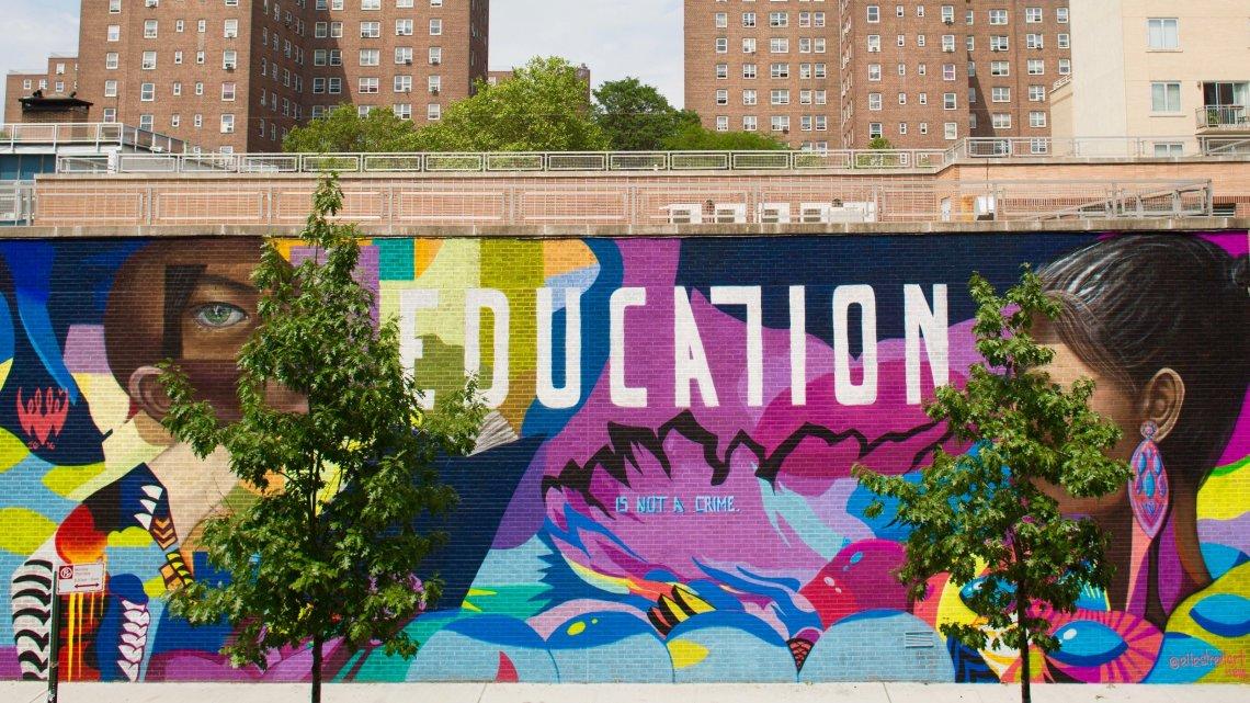 Elle education is not a crime