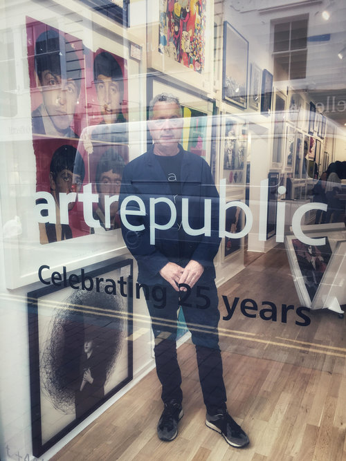 Lawrence Alkin is the CEO of the Art Republic Gallery in Brighton