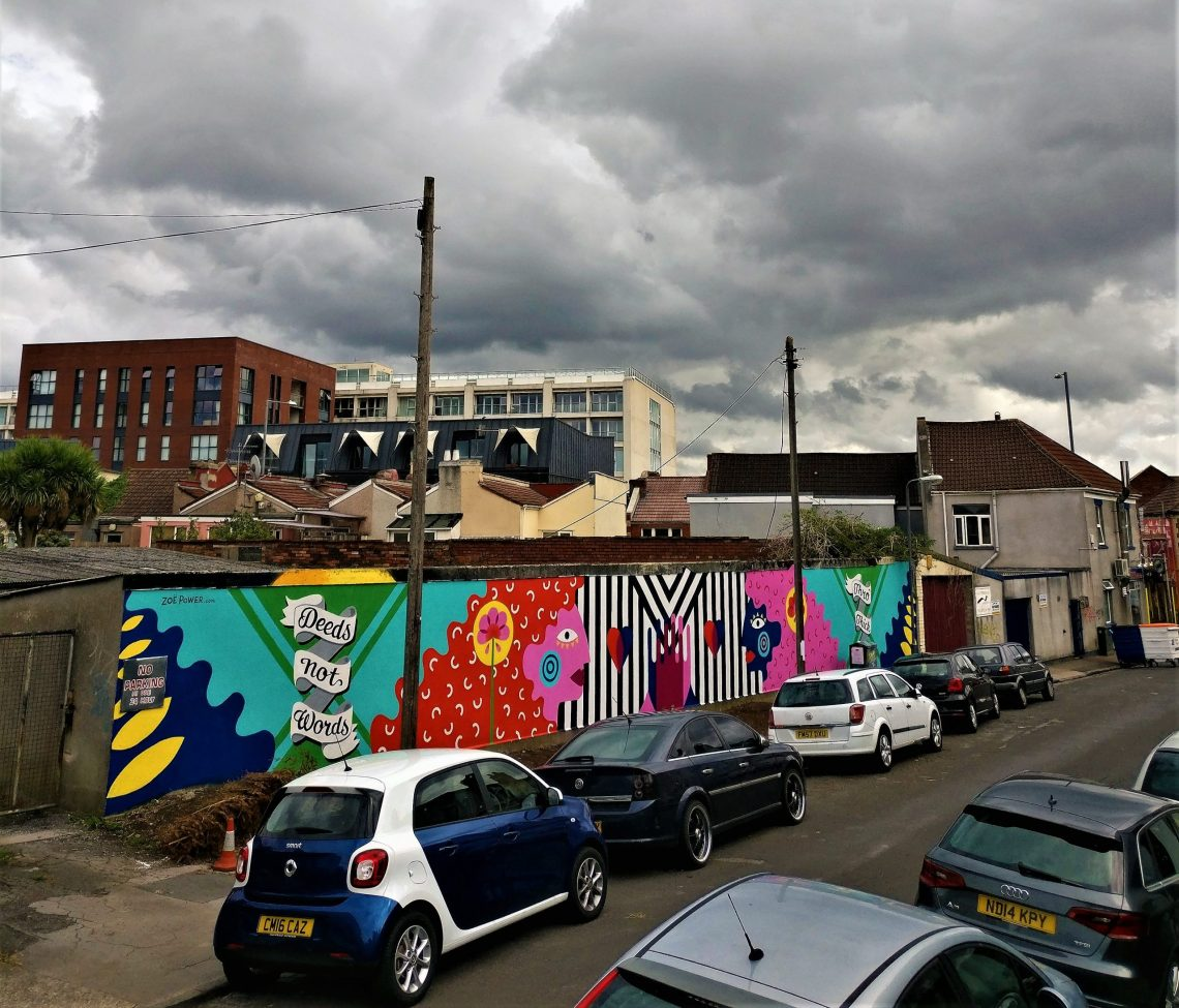 Zoe Power is a street artist from Bristol. She is one of the women leading the art industry