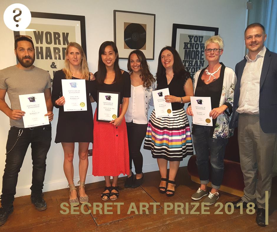 Curious Duke Secret Art Prize 2018