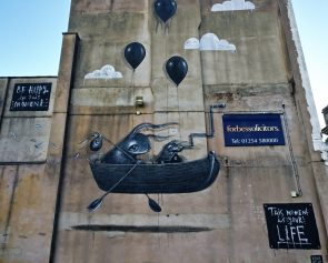 'This Moment is your Life' the latest mural from Hayley Welsh in Blackburn