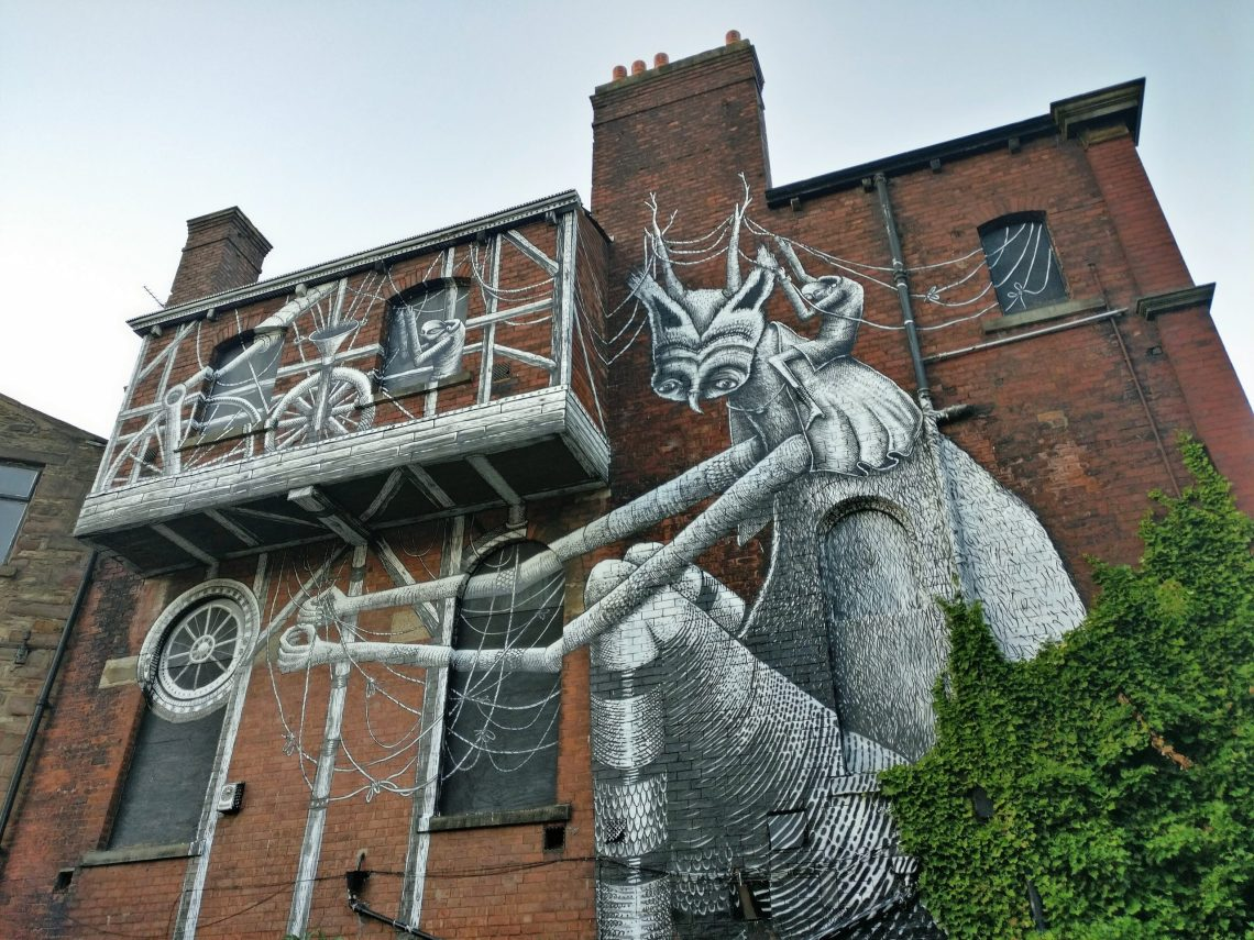 Phlegm Blackburn Open Walls
