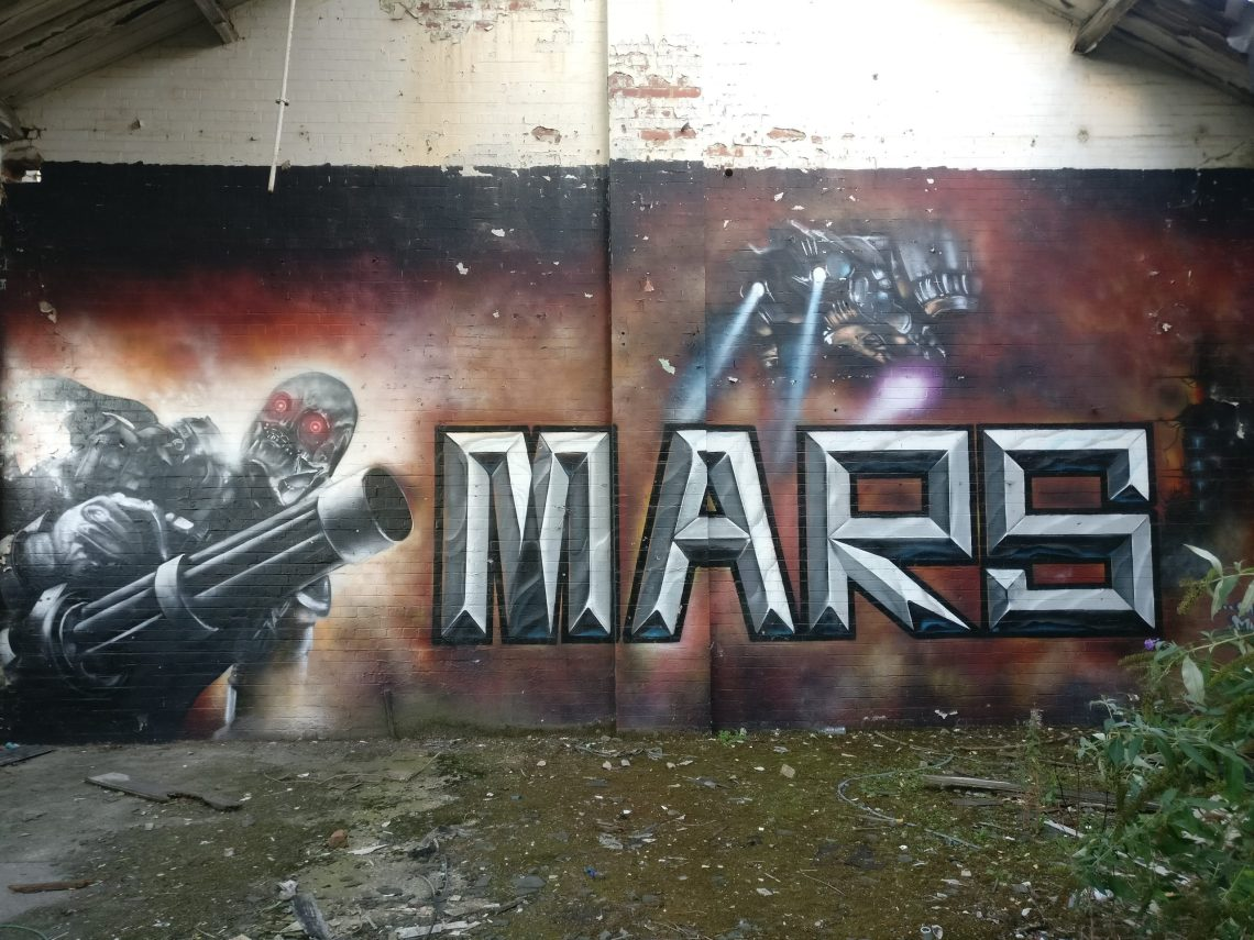 sheffield street art mars