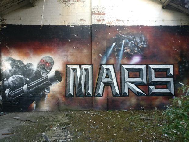 sheffield street art mars