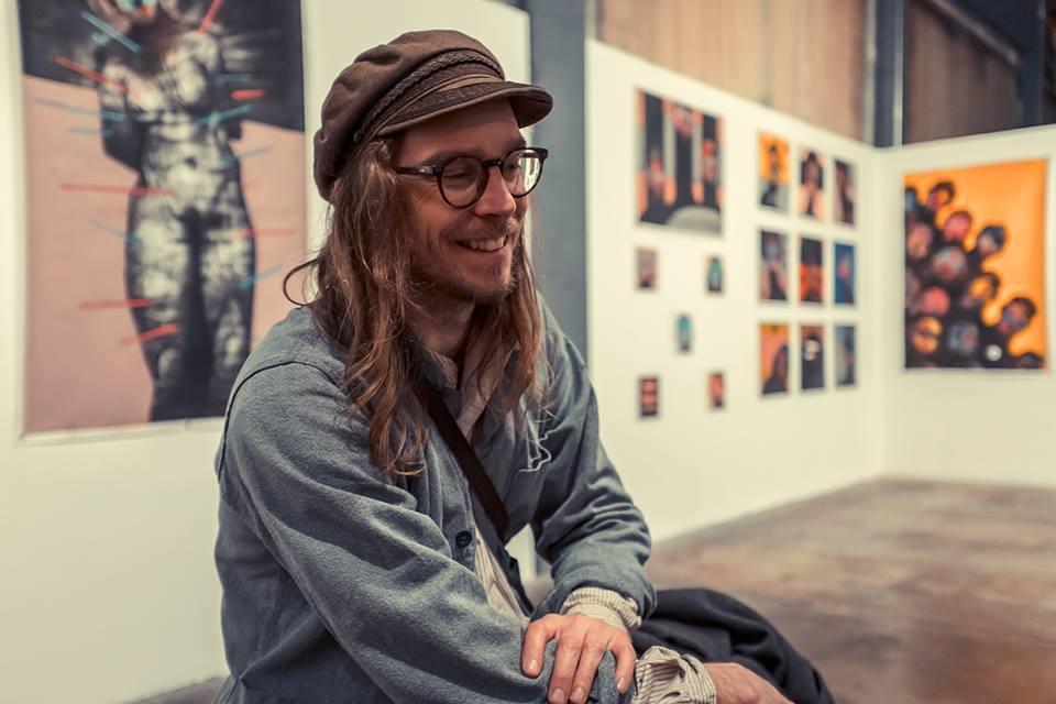 We meet Joseph Loughborough at his latest exhibition 'Of Rust' in Brighton