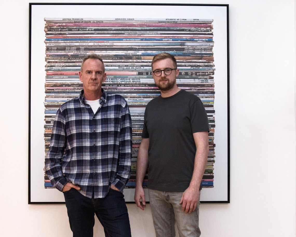 Norman Cook and Mark Vessey