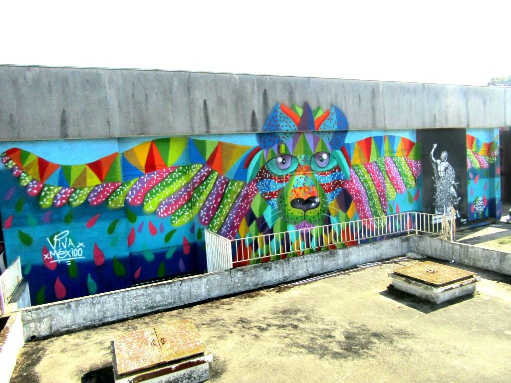 , Mexican Street Artist Sune Nesu visits London