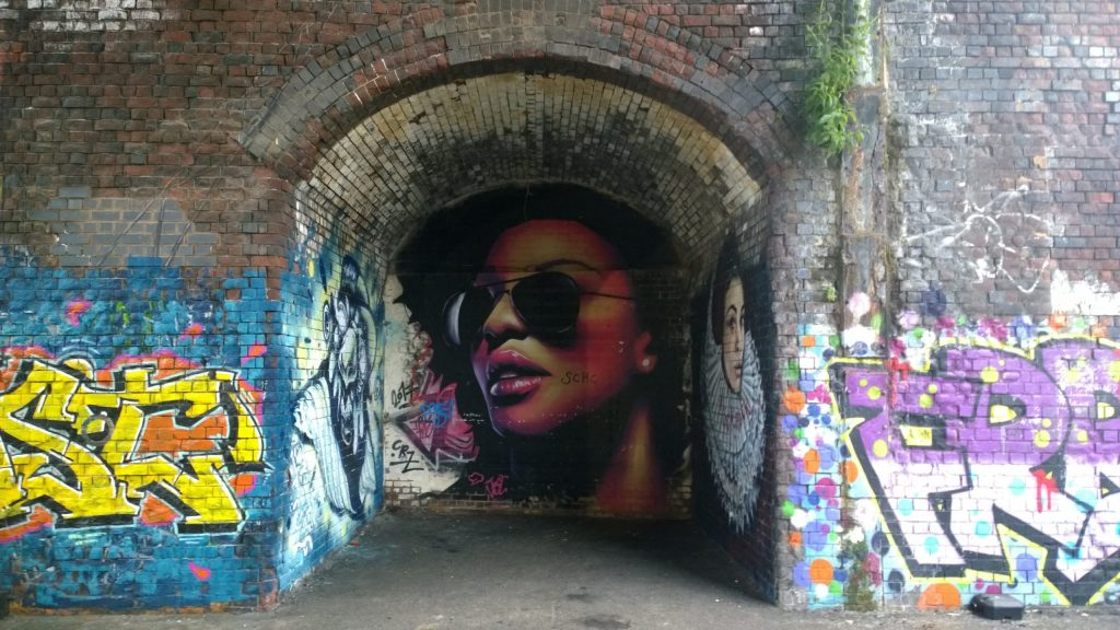 Street Art from Justin Sola in Digbeth