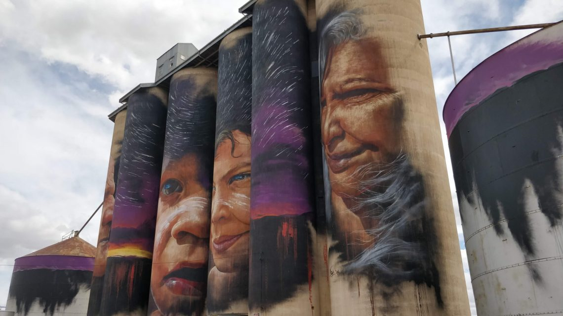 Silo Art by Adnate