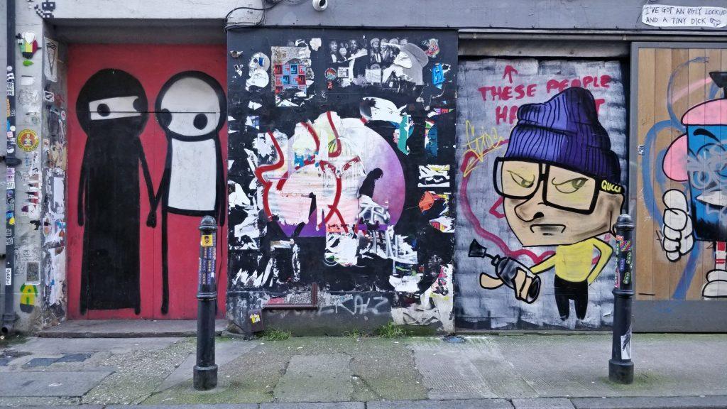 Street Art by Stik on Brick Lane
