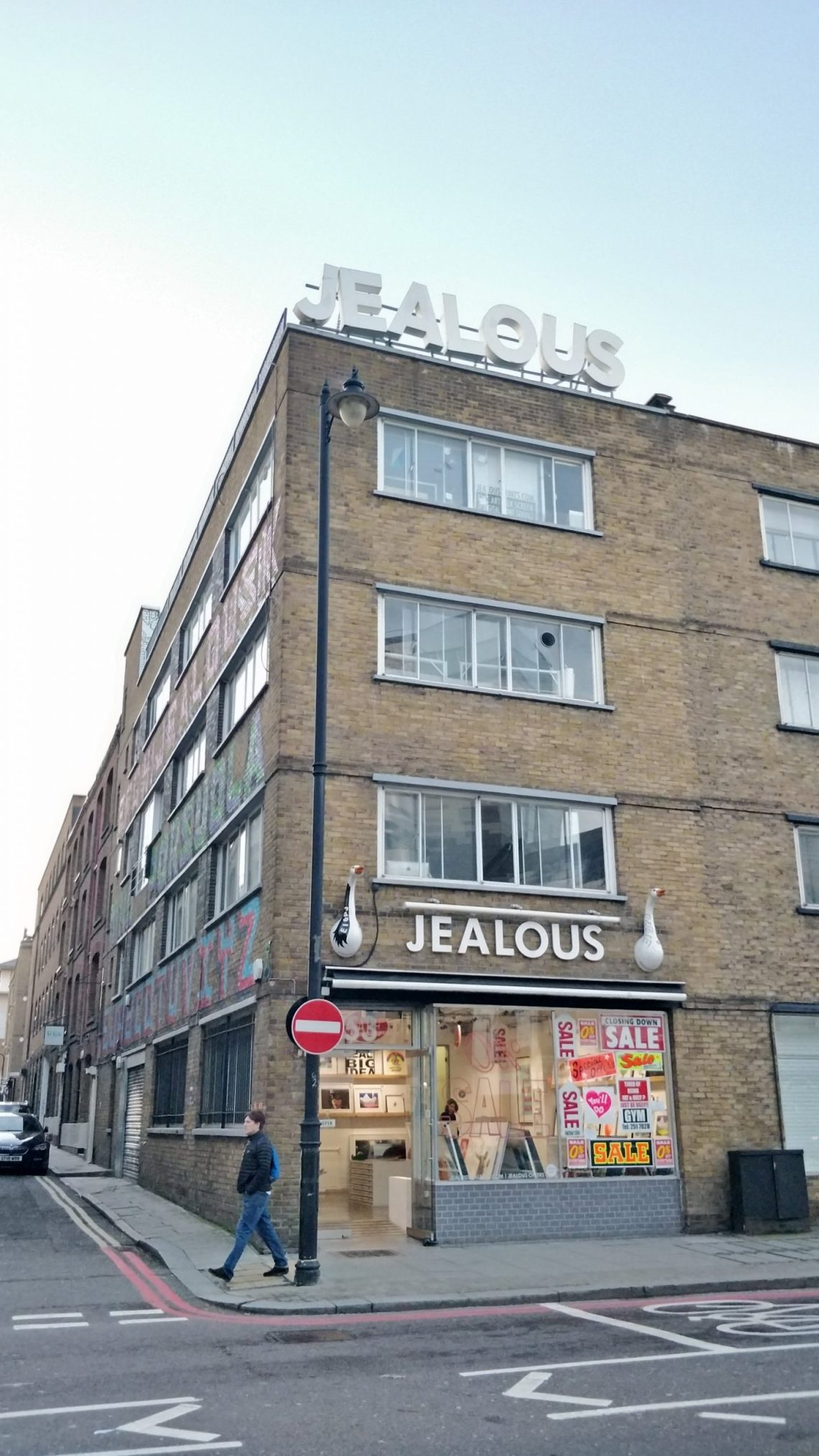 The Jealous Gallery in Shoreditch