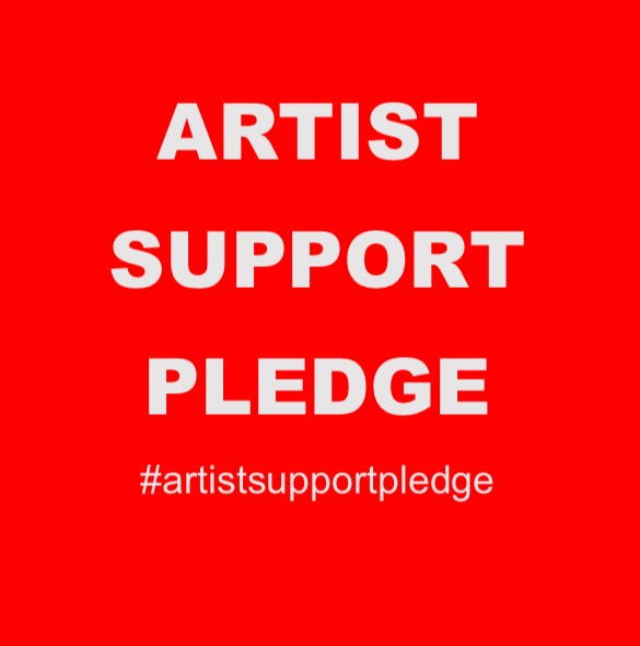 The Artist Support Pledge