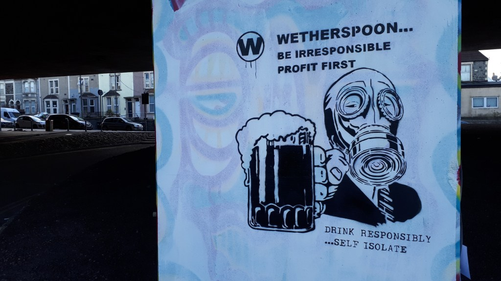 Wetherspoon be irresponsible profit first by John D'oh