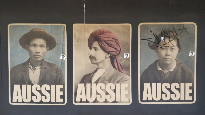 Aussie Posters by Peter Drew in Adelaide