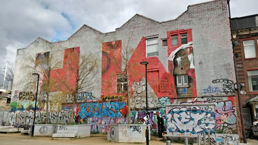 Hackney wick is one of the best places to see street art in London