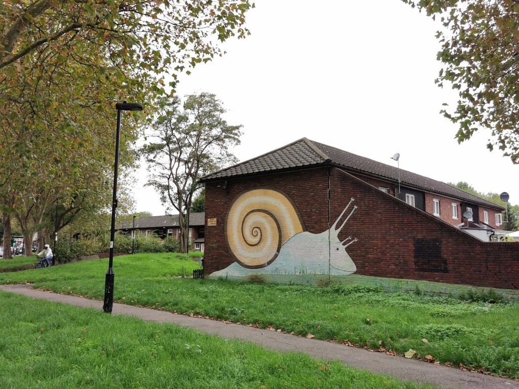 The Tottenham Snail in South Tottenham