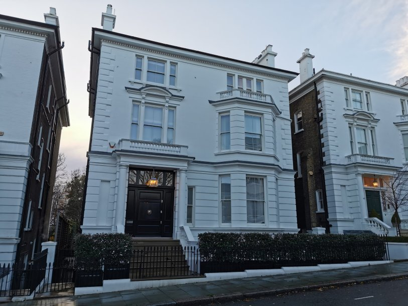 44 Phillimore Gardens was where the Kensington Society met. It is a key location in Kensington Suffragette history
