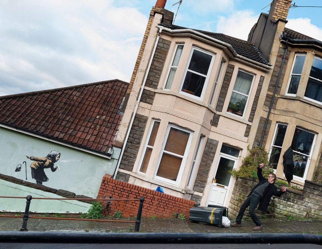 Aachoo by Banksy on Vale Street in Totterdown
