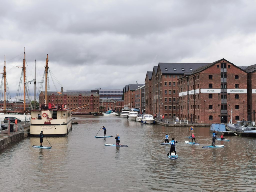 Gloucester Docks is a great thing to do in the city
