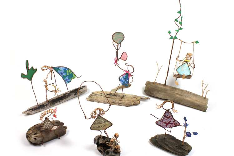 The first set of WirePeople is the Childhood Memories collection