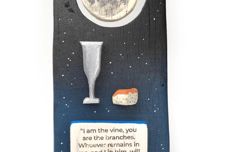 Image of Apollo 11 Communion sculpture