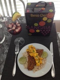 Inspiring Kitchen sangria Beso Del Sol
