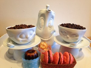 Inspiring Kitchen macaron cookies pastries coffee cup pitcher 58 Products