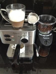 Inspiring Kitchen espresso machine Capresso ECPRO