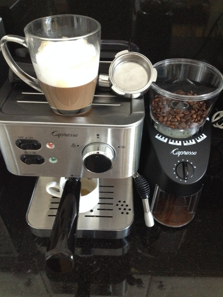 Inspiring Kitchen espresso machine Capresso ECPRO