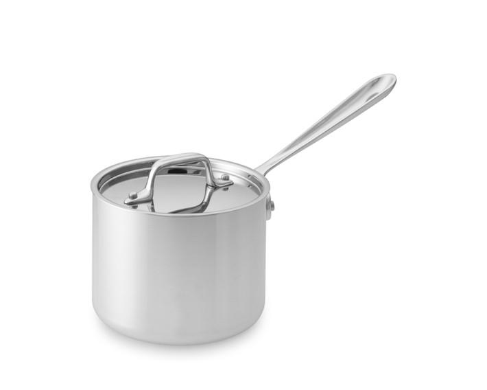 Inspiring Kitchen All Clad 2 quart sauce pan cookware