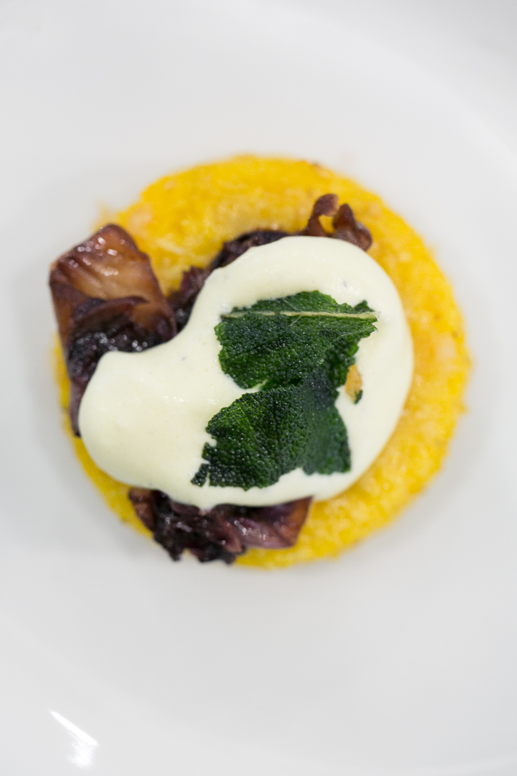Inspiring Kitchen butternut squash polenta with parmigiano