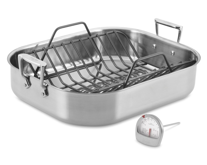 Inspiring Kitchen All Clad roasting pan cookware