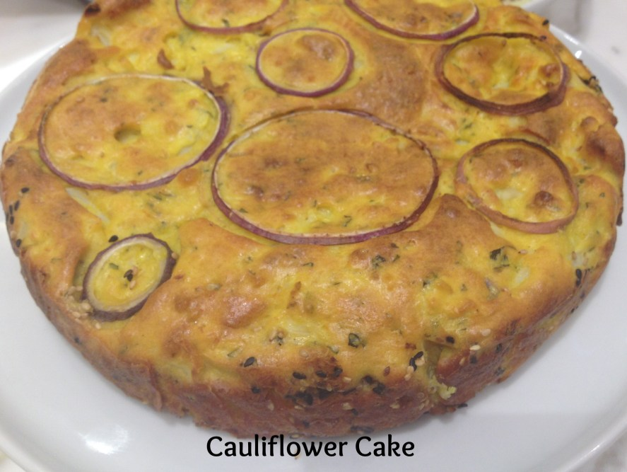 Inspiring kitchen cauliflower cake with text gift guide Plenty More