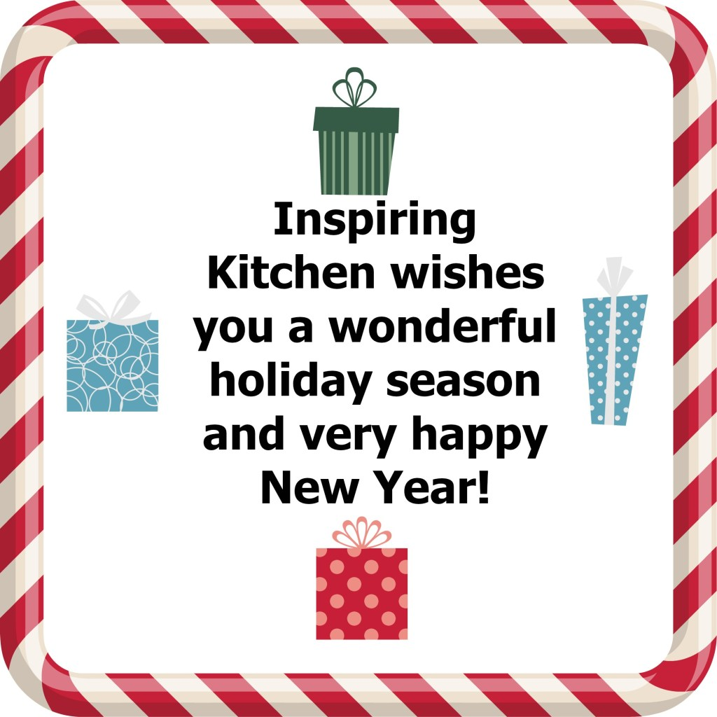 Inspiring Kitchen holiday card gift guide