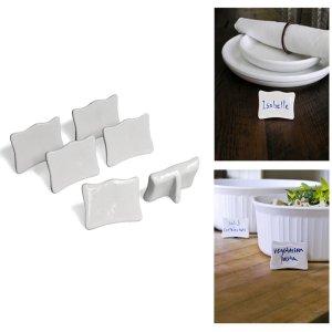Inspiring Kitchen porcelain name cards gift guide